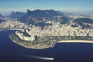 A paisagem do Rio de Janeiro - um espetáculo. 1992. Foto Margi Moss