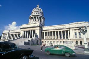 O surpreendente prédio do Capitólio, Havana. Foto Margi Moss