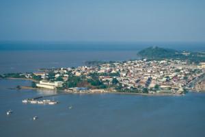 A bela Caiena, capital da Guiana Francesa. Foto Margi Moss