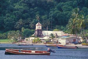Dominica continua cheia de matas densas, a única ilha caribenha que ainda é assim. Foto Margi Moss