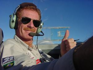 Agora, finalmente de volta ao Brasil e voando em cima de terra firme, eu estava feliz da vida!