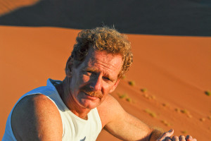 Gérard, time-off na Namíbia