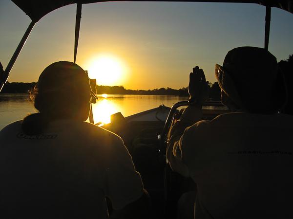 Navegando pelo rio Guaporé, MT/RO