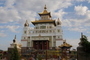 Templo Dourado, Elista, Kalmykiya